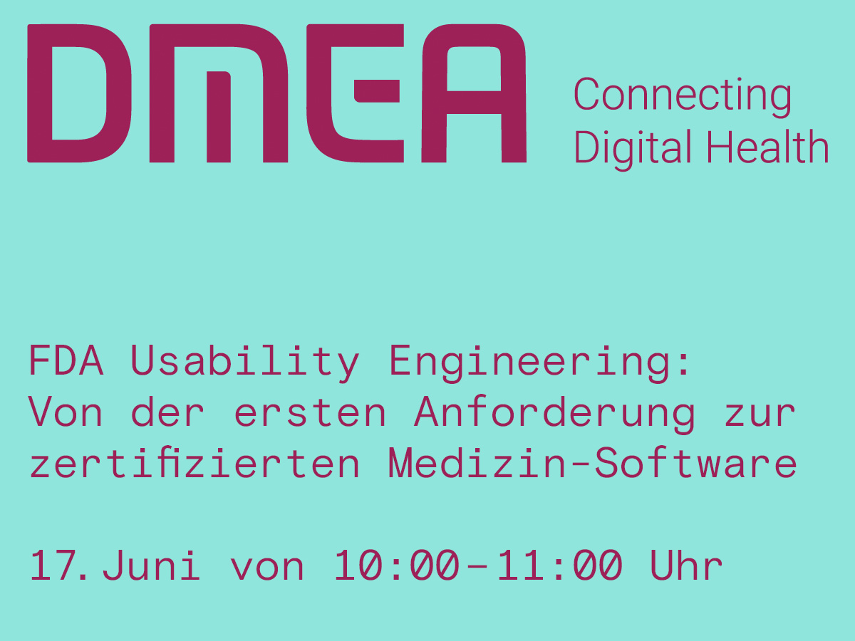 Infoflyer der DMEA Connecting Digital Health